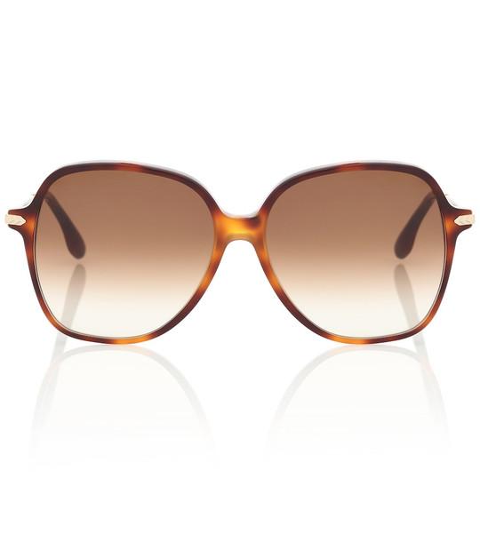 Victoria Beckham Round sunglasses in brown