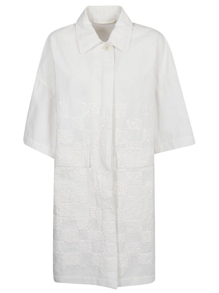 Dries Van Noten Classic Dress in white