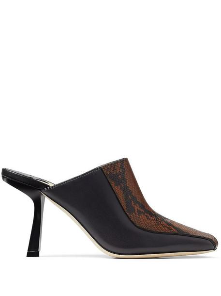 Jimmy Choo Marcel 85mm square-toe mules in black