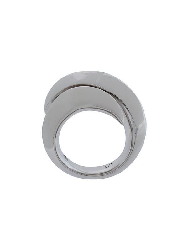 Kasun London claw ring in grey